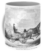 Trotting Horse, 1853 Coffee Mug