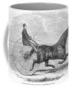 Trotting Horse, 1861 Coffee Mug