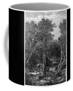 Trout Fishing, 1867 Coffee Mug by Granger