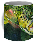 Trout In Hand Coffee Mug