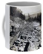 Truckee River - California - C 1865 Coffee Mug