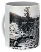 Truckee River - California Looking Toward Donner Lake - C 1865 Coffee Mug