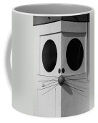 Truly Nolen Rat In Black And White Coffee Mug by Rob Hans
