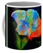 Trumpet With Watercolor Overlay Coffee Mug