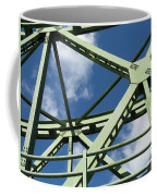 Truss Coffee Mug by Arlene Carmel