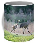Trying To Keep Up Coffee Mug