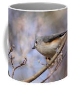Tufted Titmouse - On The Slope Coffee Mug