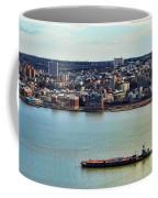 Tugboat On The Hudson Coffee Mug