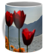 Tulip And Lake Coffee Mug
