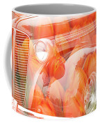 Tulip Car Abstract Coffee Mug