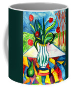 Tulips And A Pear Coffee Mug