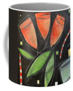 Tulips And Water Glass Coffee Mug