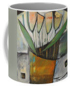 Tulips In Terracotta Coffee Mug