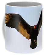 Turkey Vulture Evening Flight Coffee Mug