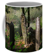 Turkish Cemetery In Rural Mugla Province Coffee Mug