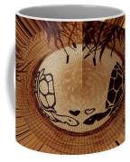 Turtles Love Digital Artwork Coffee Mug