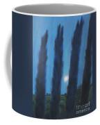 Tuscan Cyprus Trees Coffee Mug