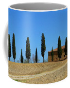 Tuscan House  I Cipressini/italy/europe  Coffee Mug