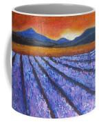 Tuscany Lavender Field Coffee Mug