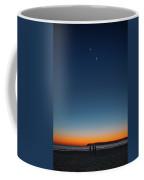 Twilight At Coronado Beach Coffee Mug