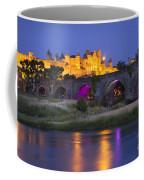 Twilight Over Carcassonne Coffee Mug