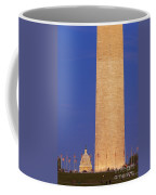 Twilight Over Washington Dc Coffee Mug
