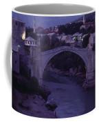 Twilight View Of A 15th-century Bridge Coffee Mug