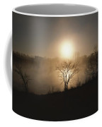 Twilight View Of Fog Over The Tennessee Coffee Mug by Sam Abell