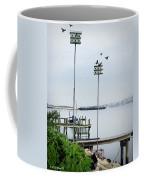 Twin Birdhouses Coffee Mug