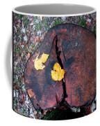 Twin Fallen Leaves Coffee Mug
