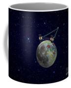 Twin Grail Spacecraft Map The Moons Coffee Mug