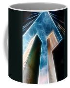 Twin Towers Coffee Mug by Paul Ward