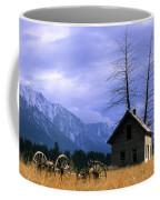 Twin Tree Cabin Coffee Mug