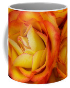 Twin Yellow Roses Coffee Mug