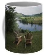 Two Adirondack Chairs On A Scenic Coffee Mug by Randy Olson
