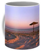 Two Beach Umbrellas Coffee Mug