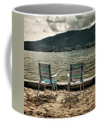 Two Chairs Coffee Mug by Joana Kruse