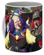 Two Clowns Coffee Mug