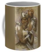Two Dancers Adjusting Their Shoulder Straps Coffee Mug