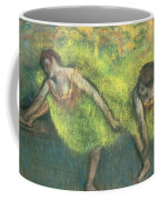 Two Dancers Relaxing Coffee Mug