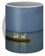 Two Deck Chairs In Conversation Coffee Mug