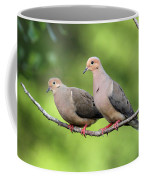Two Doves Coffee Mug