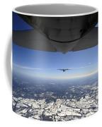 Two Ec-130j Commando Solo Aircraft Fly Coffee Mug