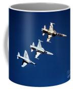 Two F-5 Tiger IIs And An A-4e Skyhawk Coffee Mug