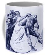 Two Gentlemen Contemplating A Cadaver Coffee Mug