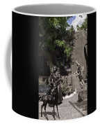 Two Girls In Santa Fe Coffee Mug
