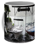 Two Hanging Boats Coffee Mug
