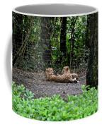 Two Headed Cheetah Coffee Mug