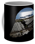 Two Islands On A Lake With A Arch Coffee Mug