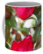 Two Rose Buds Coffee Mug